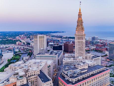 Cleveland, Ohio Aerial Landscape .jpg
