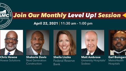 """NAMC Monthly Level Up Session - """"Do You Know Your Numbers?"""""""