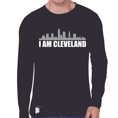 Cle SC I Am Cleveland Long Sleeve Tee