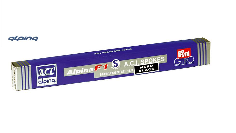 Alpina F1 Sainless Steel spokes