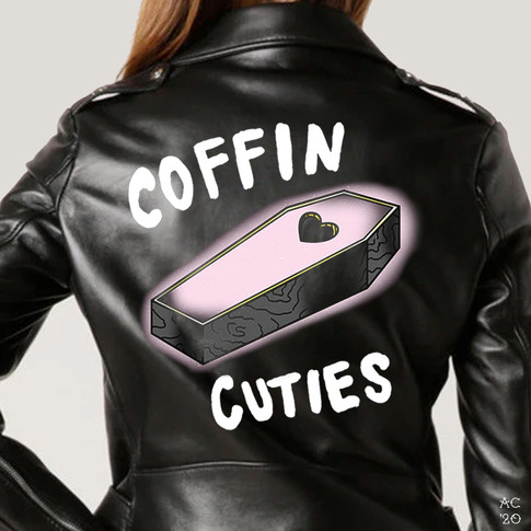 Coffin Cuties Emblem - Creeptober Club
