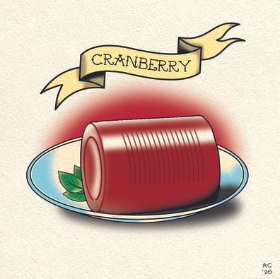 Cranberry Sauce - Flash Tattoo Design
