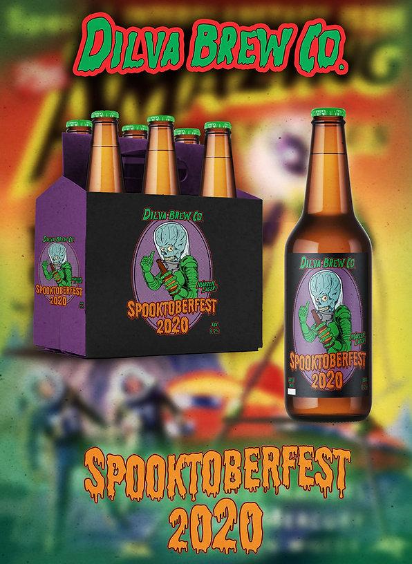 Spooktoberfest 2020 - Branding