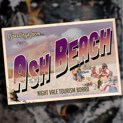 Ash Beach Postcard - Welcome To Nightvale