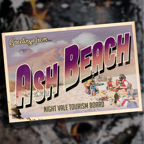 Ash Beach Postcard - Welcome To Nightvale