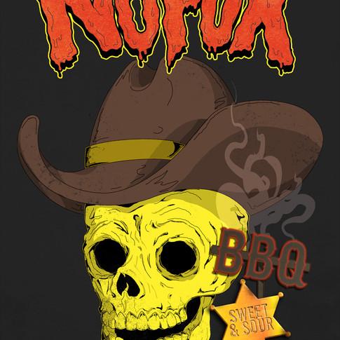 NoFux BBQ Sauce Label, NoFux Sauce