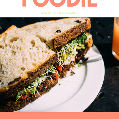 FOODIE Magazine Cover