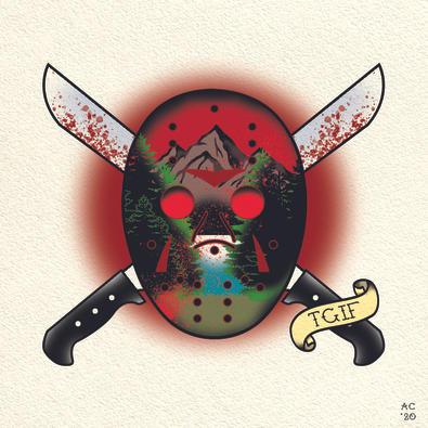 Jason Voorhees - Flash Tattoo Design