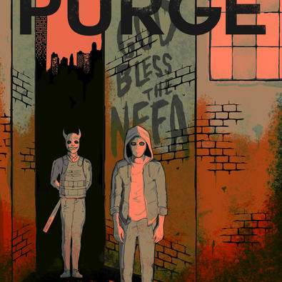 The Purge - Graphic Novel Cover
