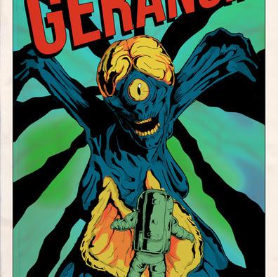 """GERANGI!"" Poster - Creepshow on Shudder"