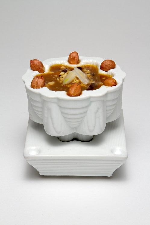Hidden Well Bowl + Saucer