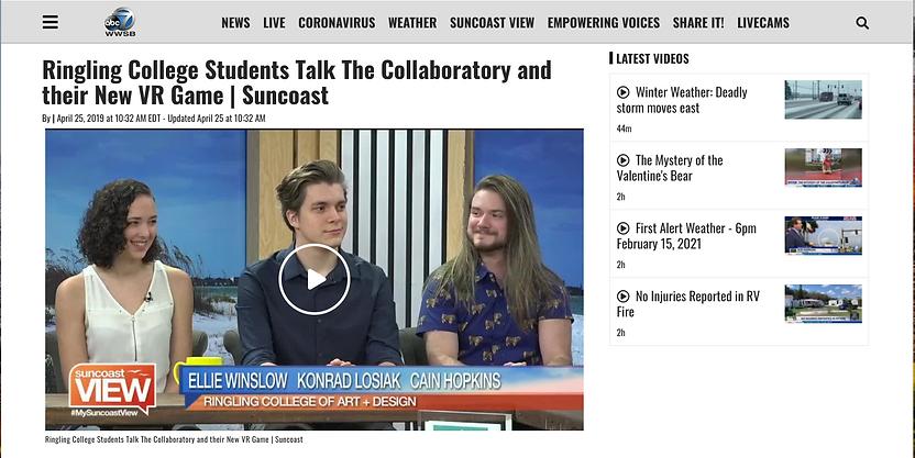 Ellie Winslow Suncoast View Interview