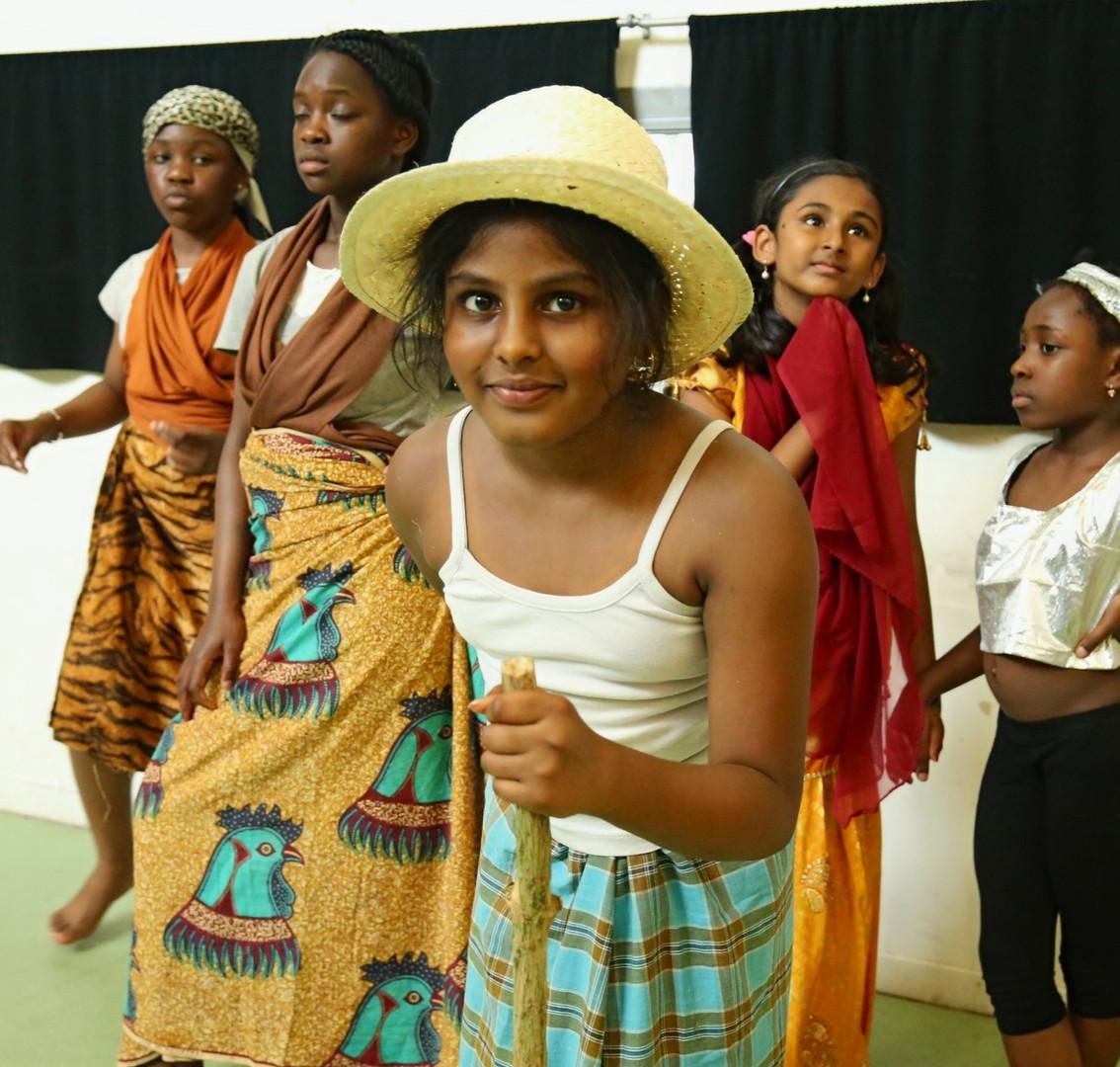 Les enfants du CLAS au Centre socio-culturel Noguès