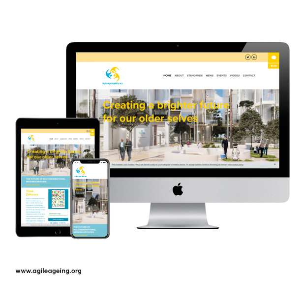 Agile Ageing Alliance Website