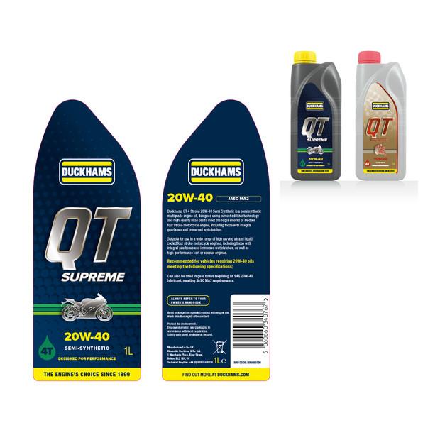 Duckhams Packaging