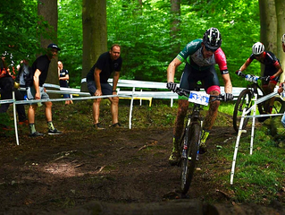 DEUTSCHE MOUNTAINBIKE MEISTERSCHAFT IN BAD SALZDETFURTH TAG EINS