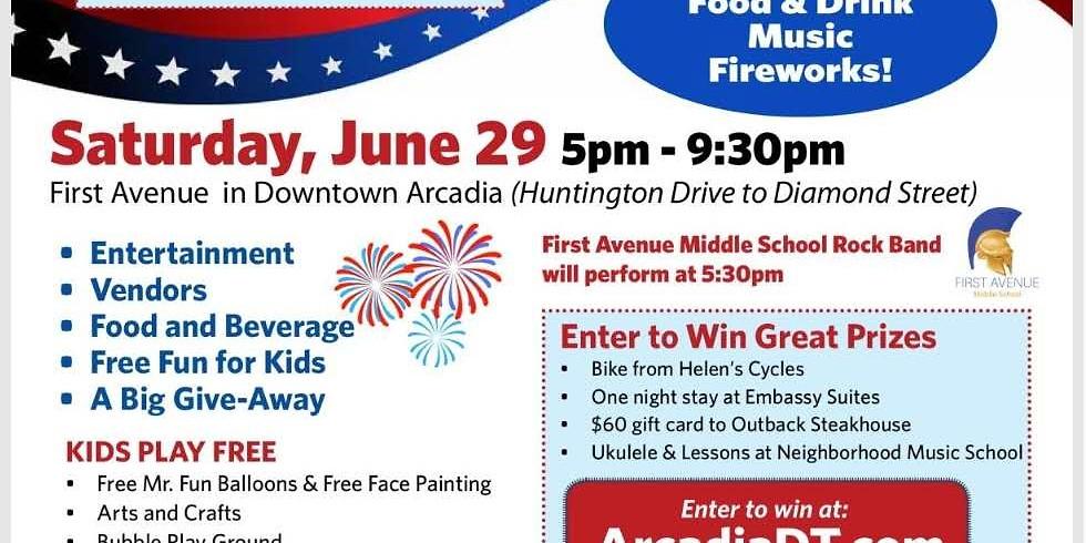 Downtown Arcadia Patriotic Festival