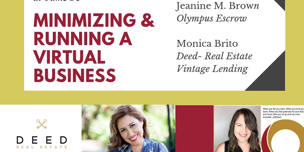 Minimizing & Running a Virtual Business