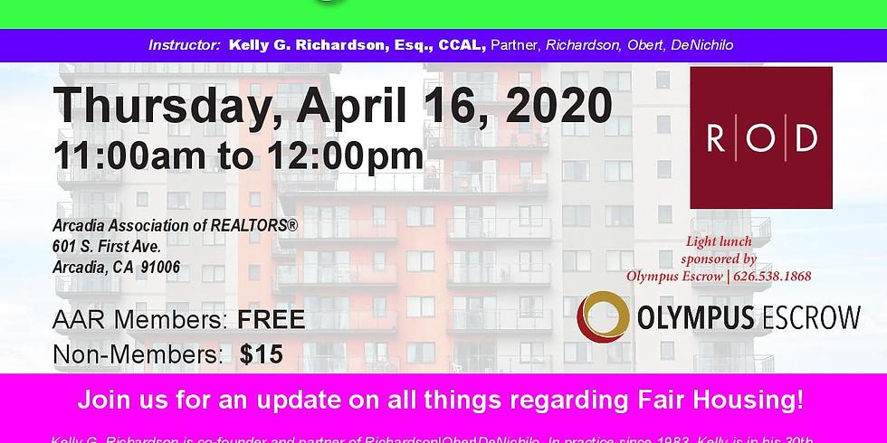AAR_Fair Housing Rules & Regulations