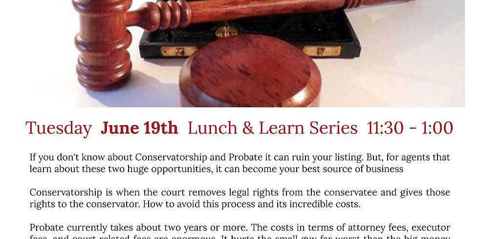 Find the Opportunities in Conservatorship and Probate Courts with Wei Wong