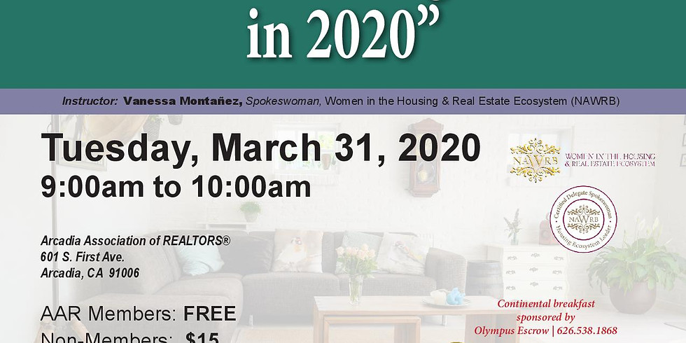 AAR-Women's Homeownership and Purchasing Power in 2020