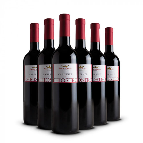 Chiostro - Cabernet Igt bottiglie 6 x 75 cl