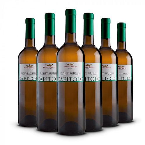 Capitolo - Pinot Grigio DOC delle Venezie bottles 6 x 75 cl