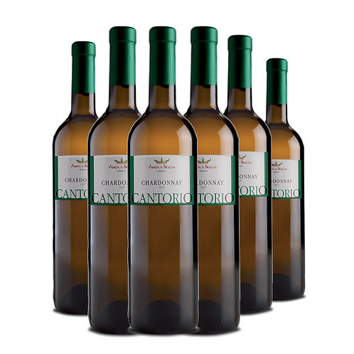 Cantorio - Chardonnay Igt bottles 6 x 75 cl