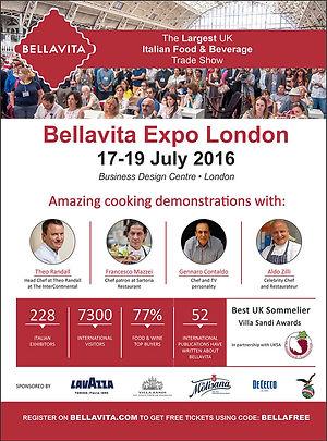 Bellavita Expo London 2016