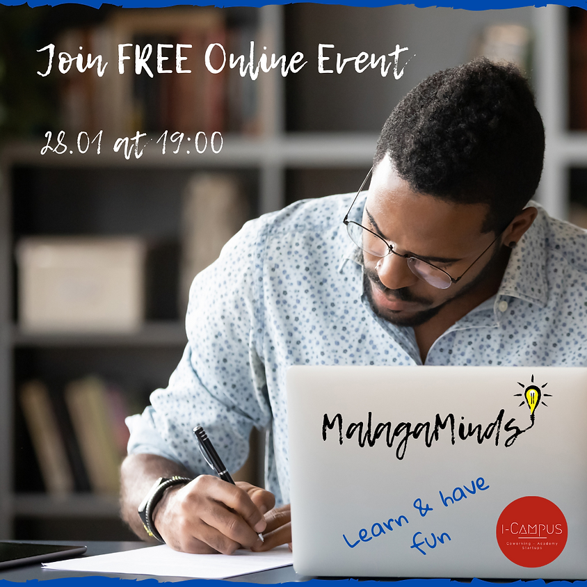 MalagaMinds FREE Online Event