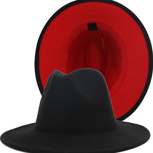 Red  Bottom - Black/Red