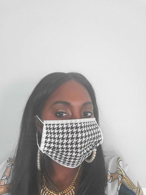 Houndstooth Mask