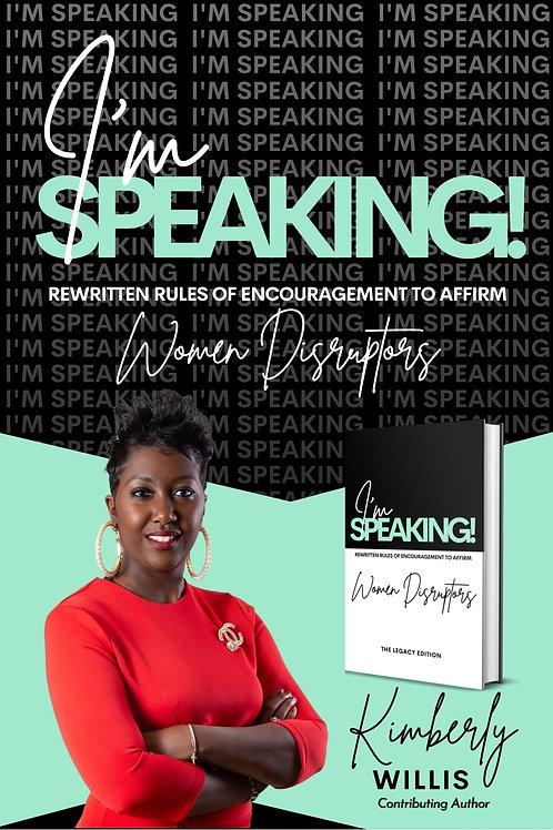 I'm Speaking - Hardback