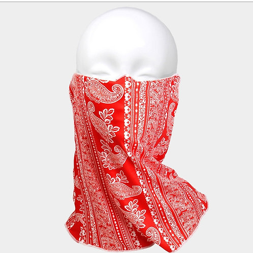 Red Neck Mask/scarf