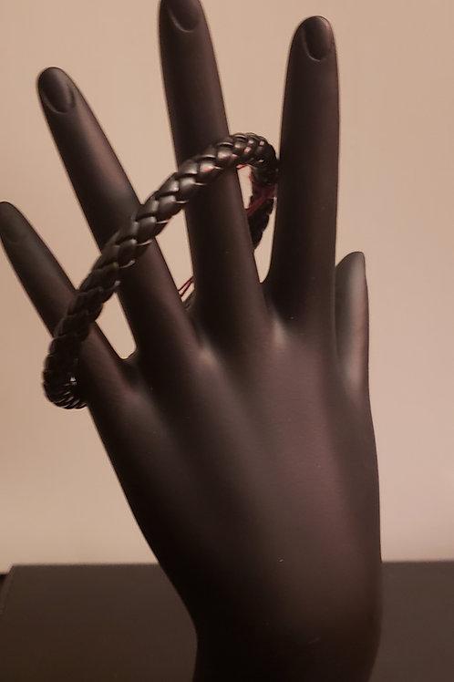 Black braided band (large men)