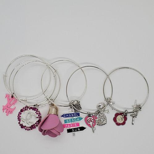 Pink Inspired Bracelet