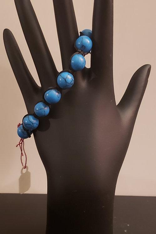 Turquoise Adjustable Mens Arm Wear
