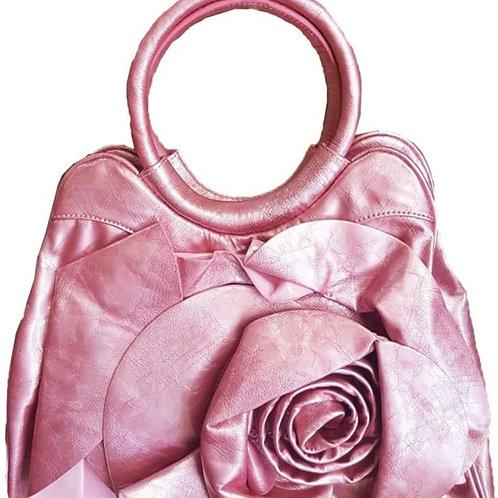 Pink Rose Handbag