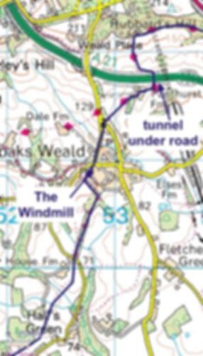 Glamping Sevenoaks Kent Walk Car Free_15