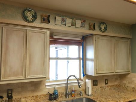 Portfolio: Texas Kitchen Cabinet Facelift