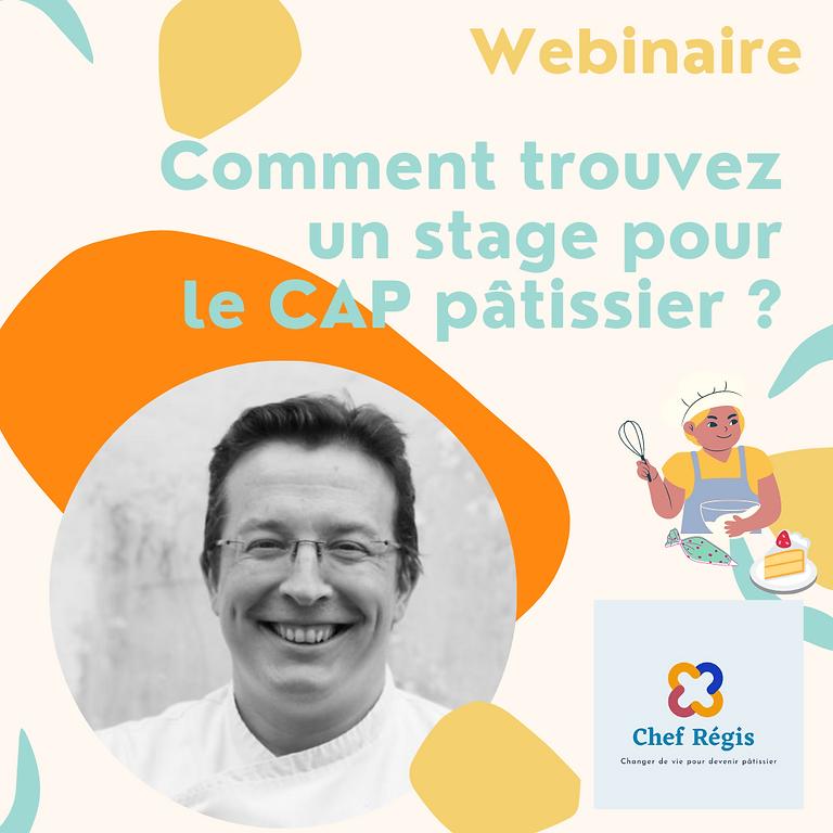 Webinaire CAP Pâtissier : Comment trouvez un stage