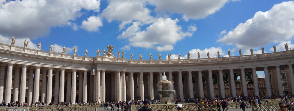 St Peter, Rome - May 2018