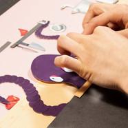 """Stage animation """"Papiers découpés"""""""