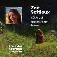 PORTRAIT D'ALUMNI - Zoé Sottiaux