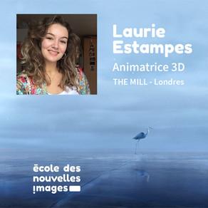 PORTRAIT D'ALUMNI - Laurie Estampes