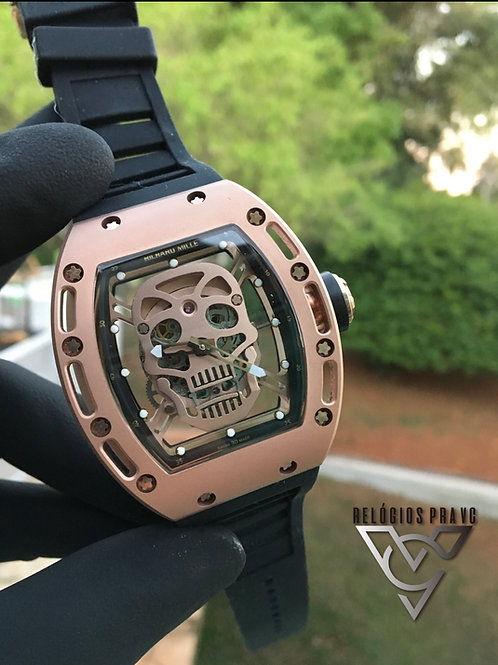 RICHARD MILLE SKULL ROSE