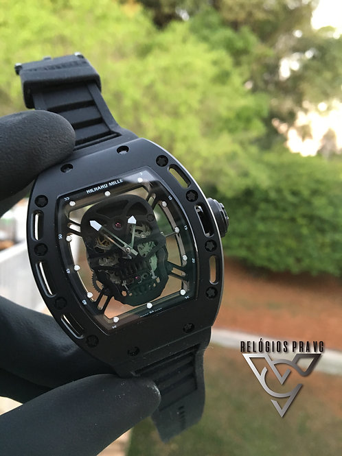 RICHARD MILLE SKULL ALL BLACK
