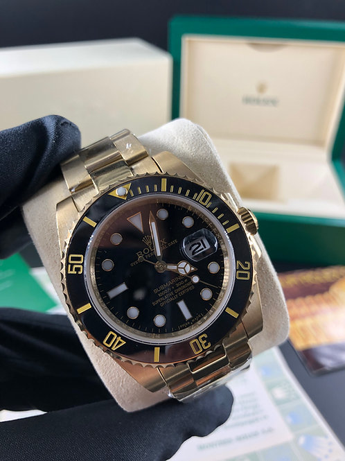 KIT R. SUBMARINER GOLD +CAIXA R. COM DOCUMENTOS