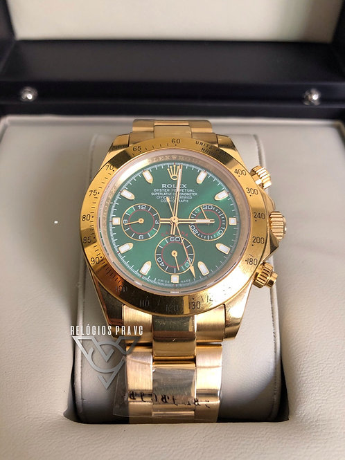 R. DAYTONA GOLD GREEN