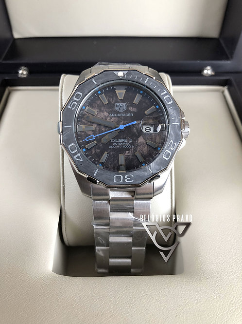 TAG AQUARECER GMT BLUE